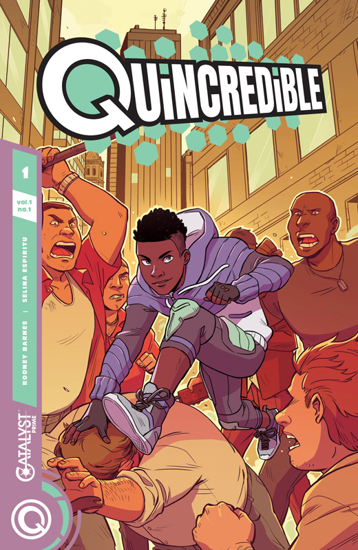Catalyst Prime - Quincredible #1-4 (2018-2019)
