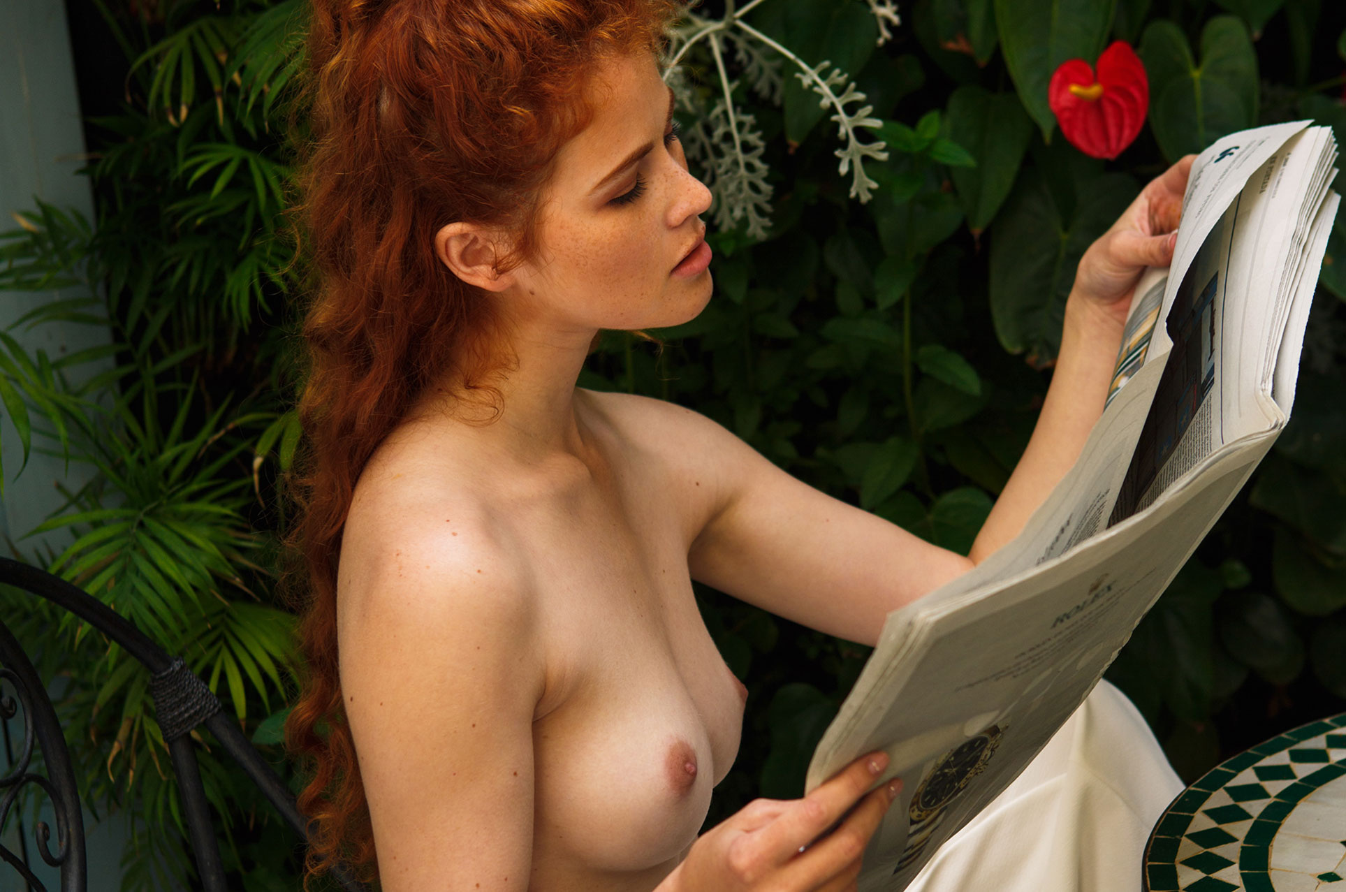 Heidi Romanova naked by Hannes Walendy