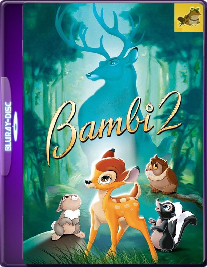 Bambi 2: El Príncipe Del Bosque (2006) Brrip 1080p (60 FPS) Latino
