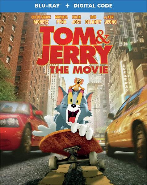 Том и Джерри / Tom and Jerry (2021/BD-Remux/BDRip/HDRip)