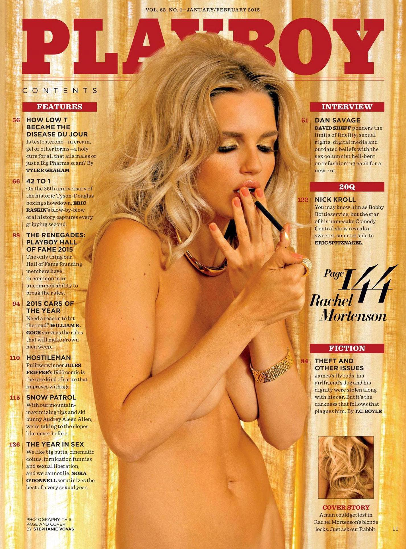 Alone Again / Rachel Mortenson в журнале Playboy US, январь-февраль 2019 / фотограф Stephanie Vovas
