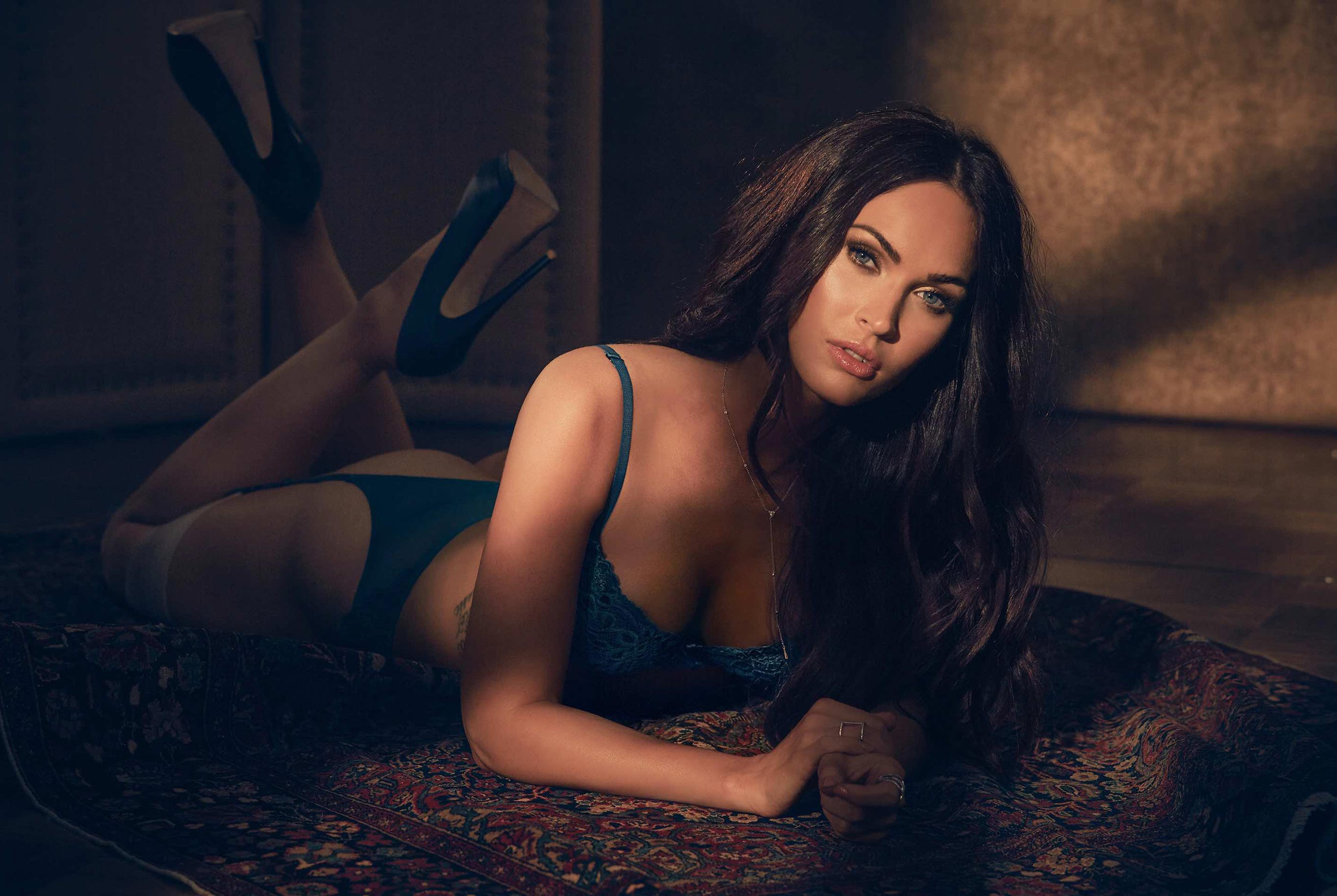 Megan Fox - Frederick's of Hollywood Lingerie fall 2017