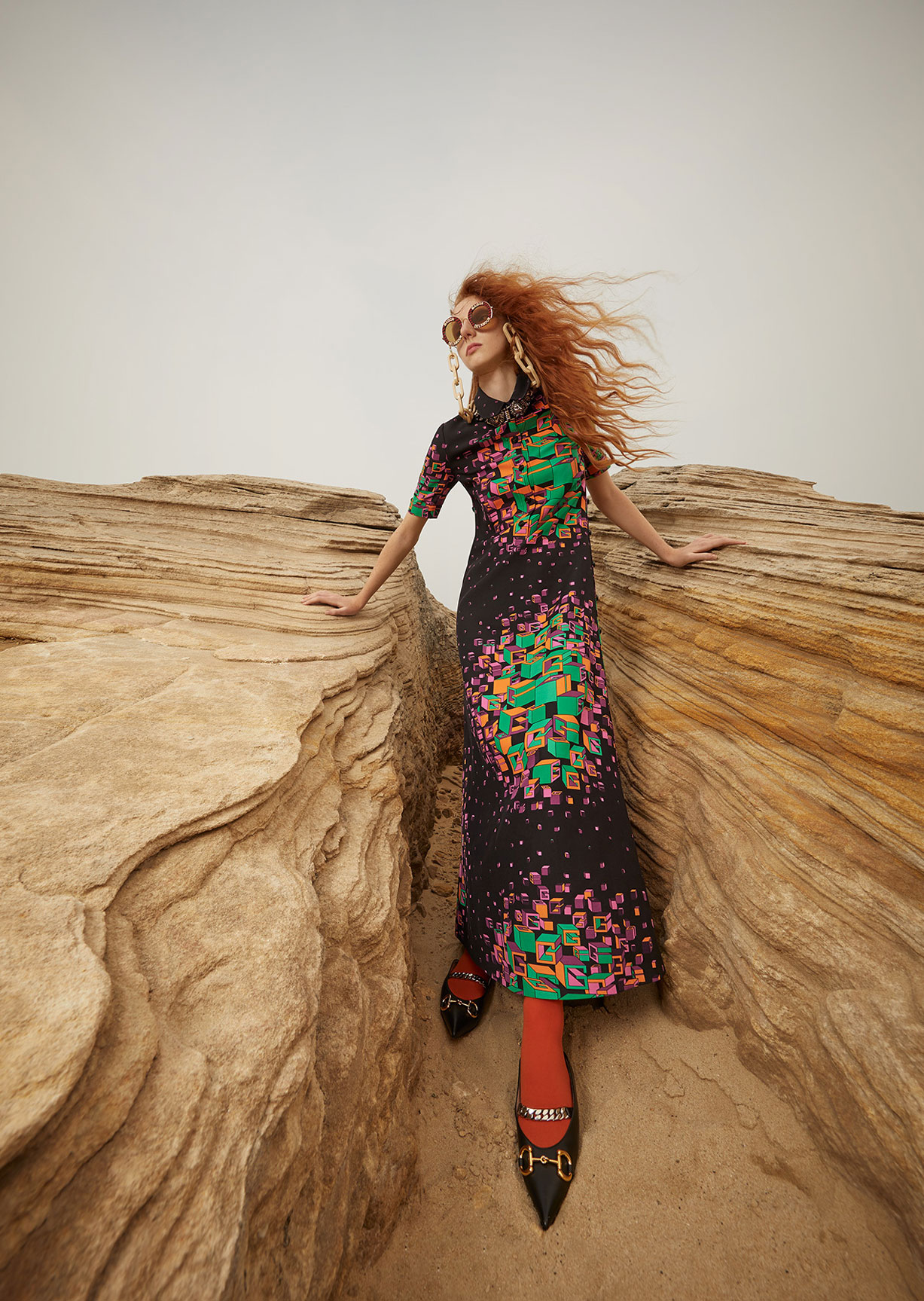 Модный маскарад в журнале Grazia / фото 11