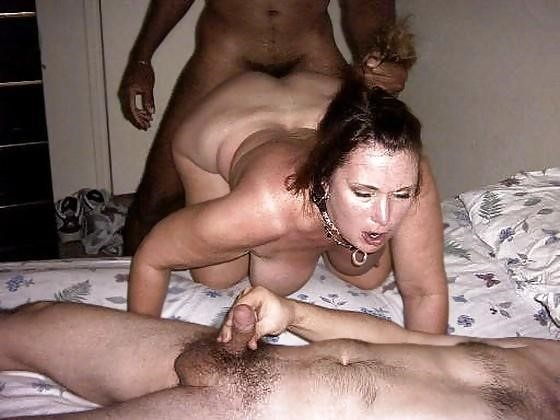 Husband watches wife interracial-4651