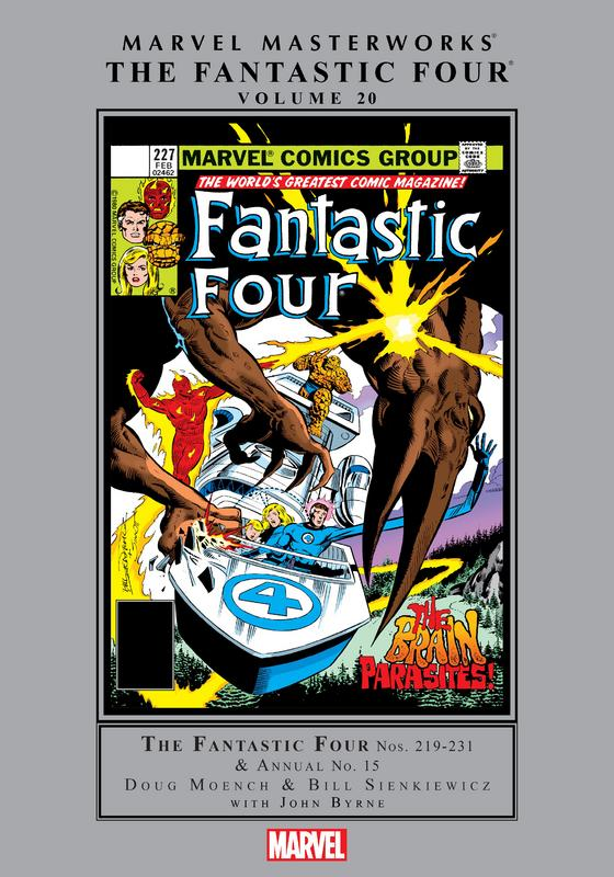 Marvel Masterworks - Fantastic Four v20 (2018)