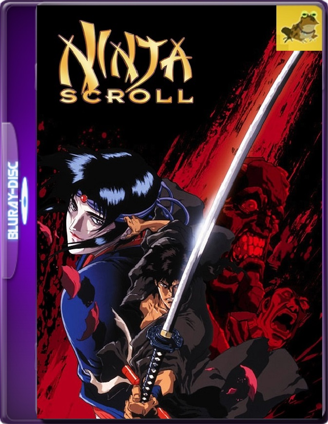 Ninja Scroll (1993) Brrip 1080p (60 FPS) Latino / Japonés