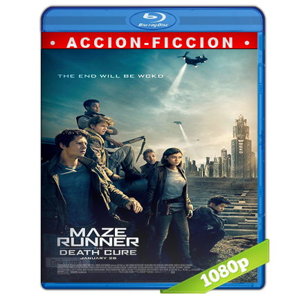 descargar Maze Runner La Cura Mortal 1080p Lat-Cast-Ing[Ficcion](2018) gratis