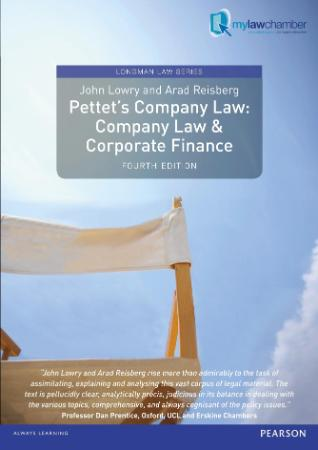 Pettet's Company Law Company Law & Corporate Finance, Uk Edition