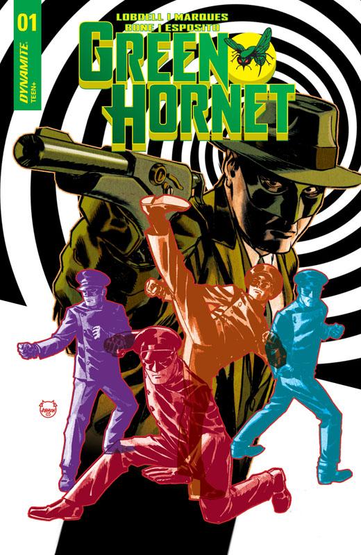 Green Hornet Vol.3 #1-5 (2020-2021)