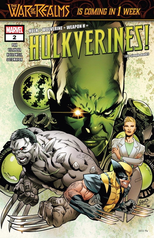 Hulkverines #1-3 (2019) Complete
