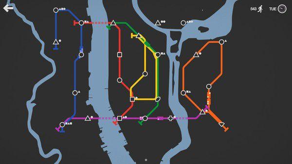 Mini Metro Captura 2