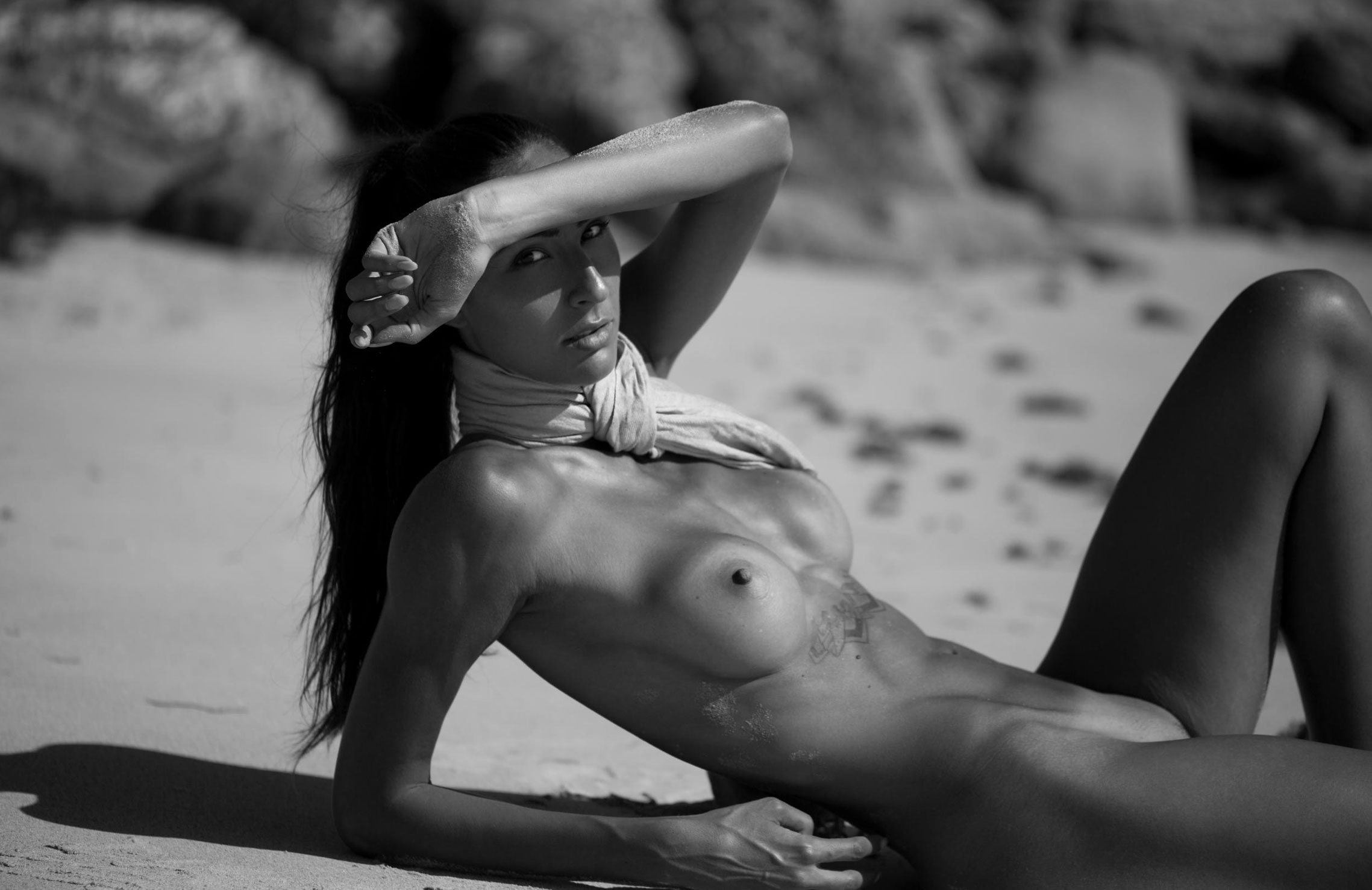 Isidora Madzarevic nude by James Felix - Volo number 54 october 2017