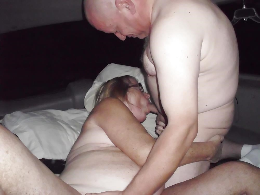 Husband watches wife in threesome-7415