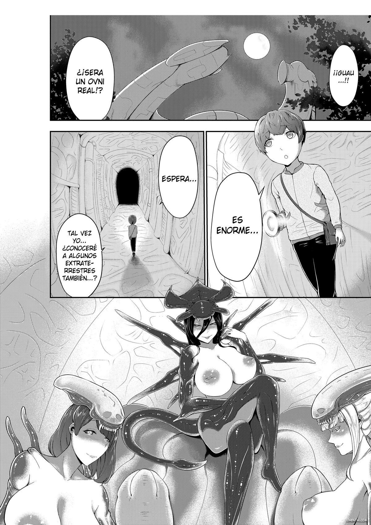 Alien Queen no Mae de Seieki o Sasageyou