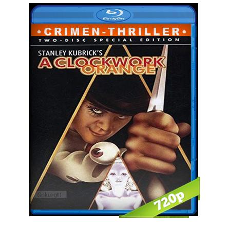 descargar La Naranja Mecanica [m720p][Trial Lat/Cas/Ing][Crimen](1971) gartis