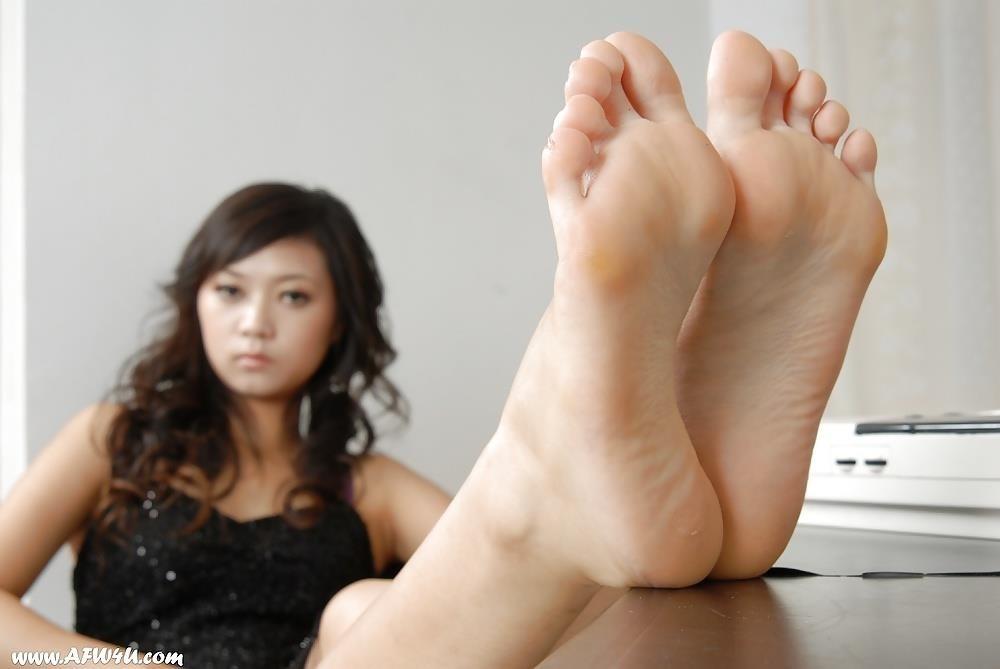Asian feet footjob-7280