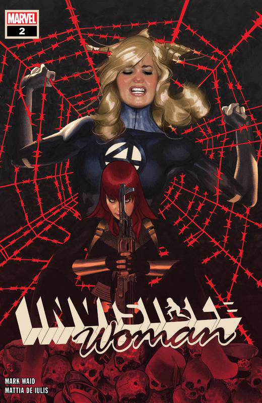 Invisible Woman #1-5 (2019-2020) Complete