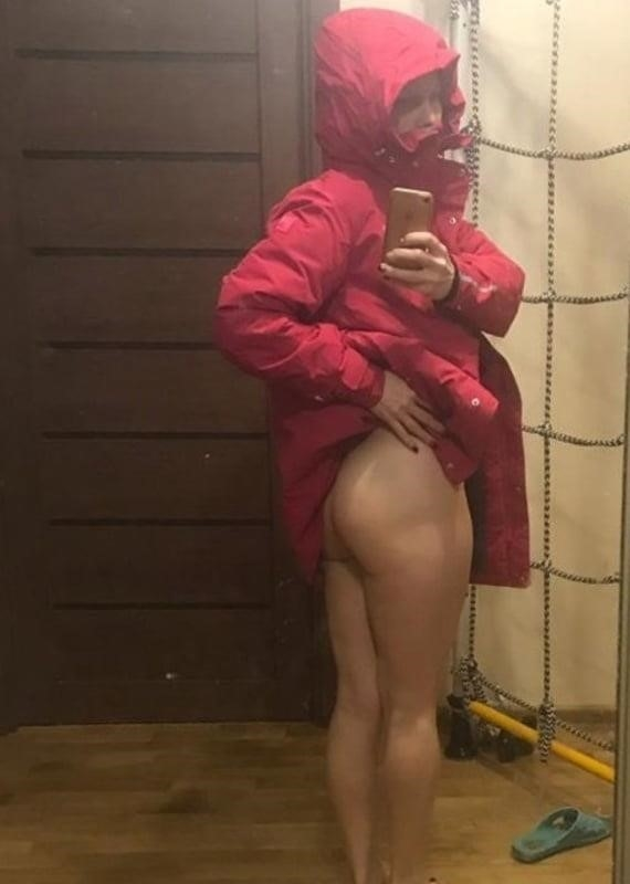 Selfie nude babe-8059