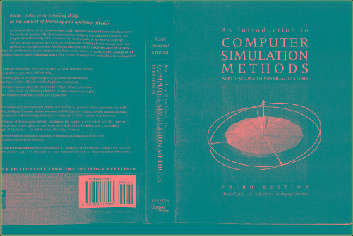 An Introduction To Computer Simulation Methods-Gould-3e
