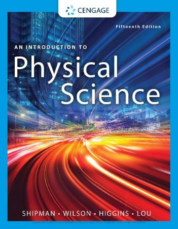An Introduction To Physical Science 15th Edition