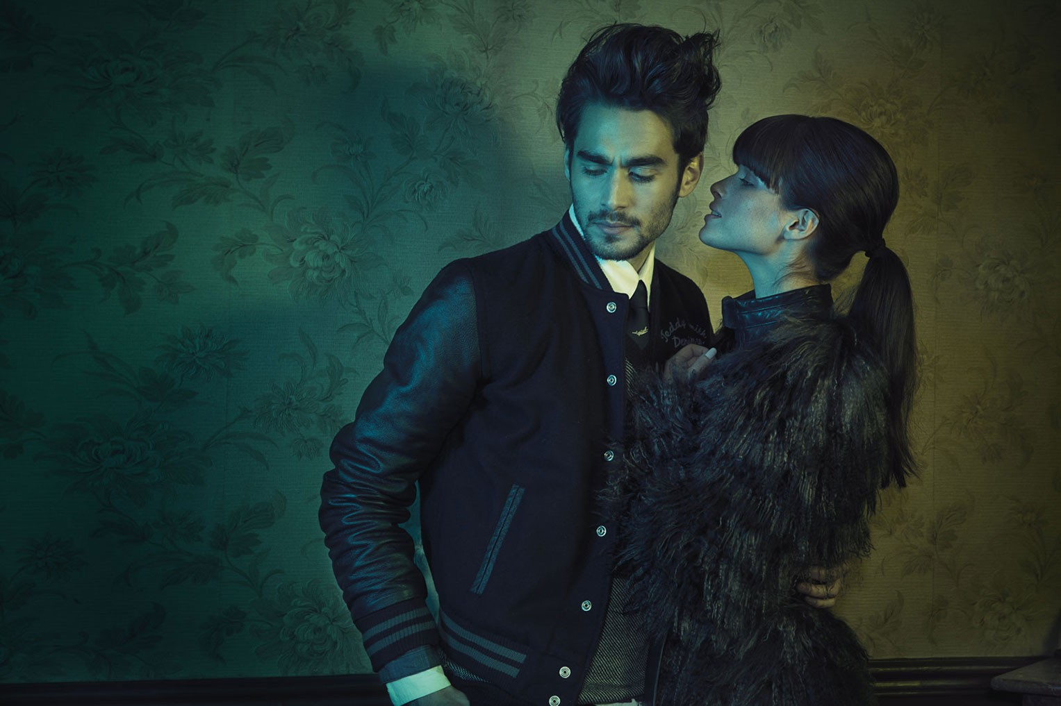 Chloe Francois & Nicolas Simoes by Lorent K & Oanell - The Runaways for Bambi Magazine