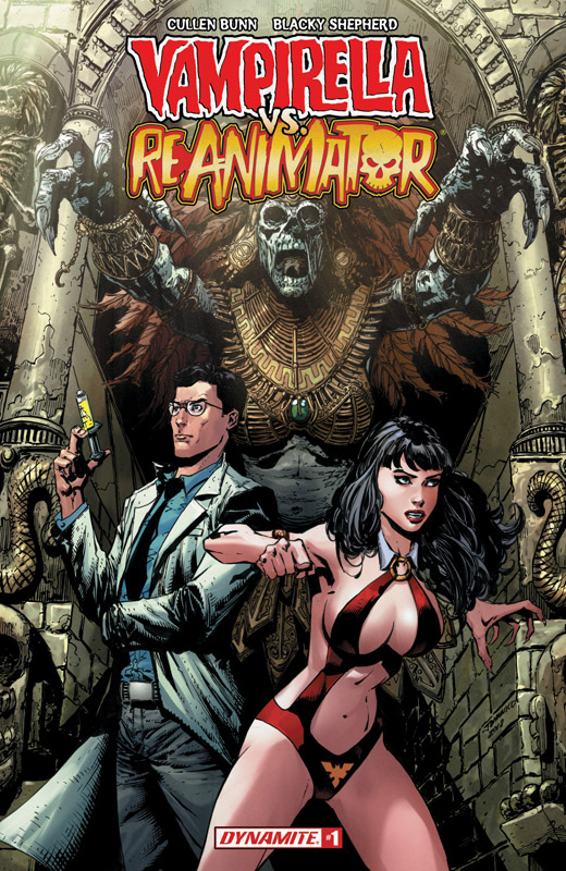 Vampirella vs Reanimator 001 (2018)