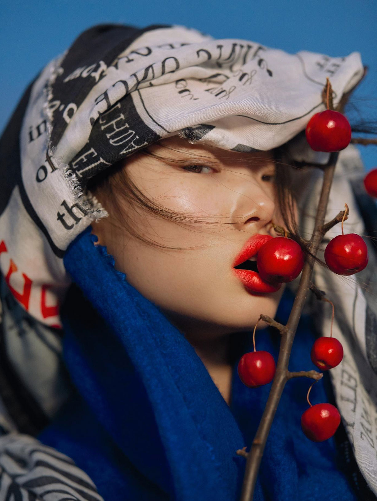 Madame Butterfly / Yoon Young Bae by Txema Yeste - Numero Magazine february 2018