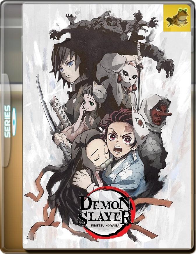 Demon Slayer: Kimetsu No Yaiba (2019) Brrip 1080p (60 FPS) Japonés Subtitulado