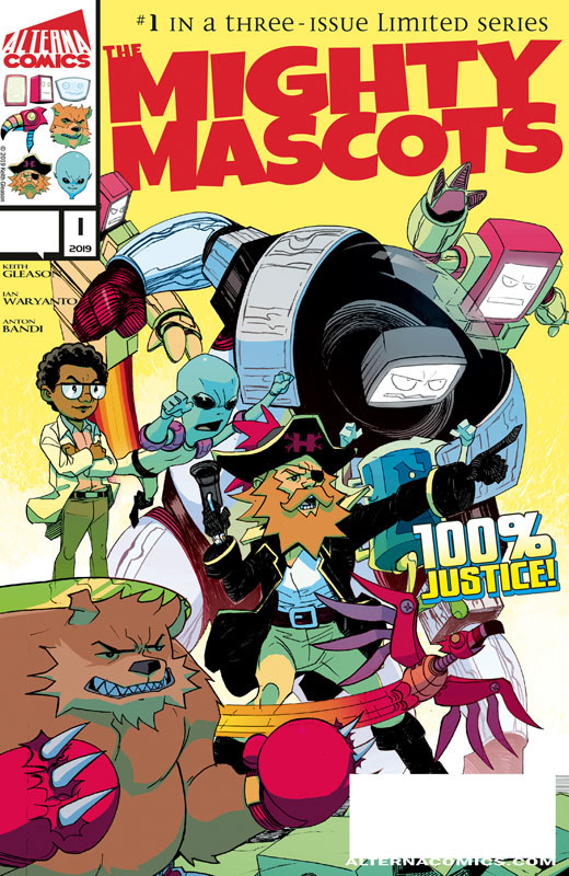 The Mighty Mascots #1-3 (2019) Complete