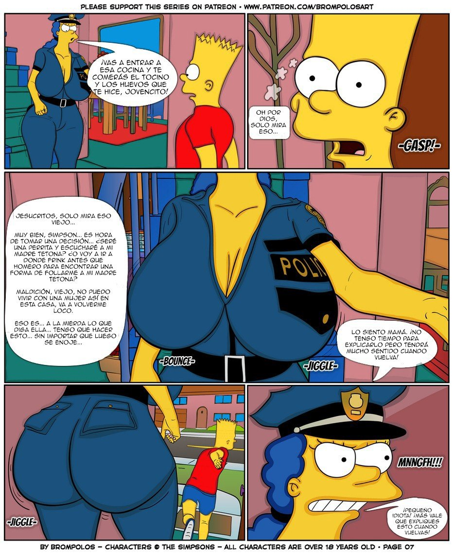 The Simpsons are The Sexenteins - 9