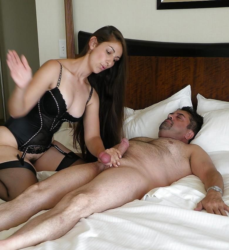Mistress milking slave-9229