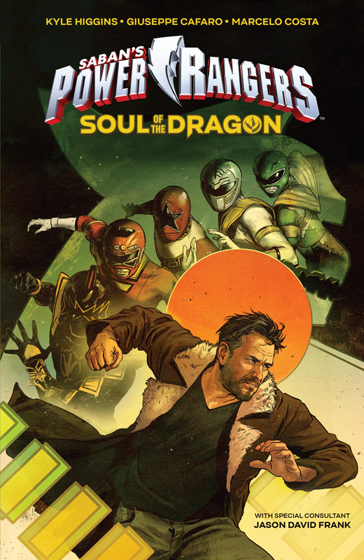 Saban's Power Rangers Original Graphic Novel - Soul of the Dragon (2018-12-05)