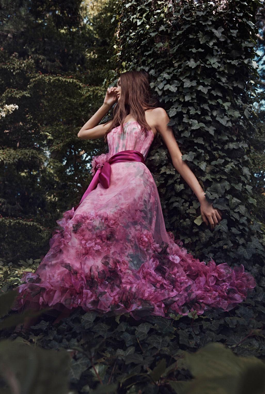 Коллекция модной одежды Marchesa, сезон весна-лето 2020 / фото 02