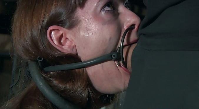 Femdom gagged slave-2377