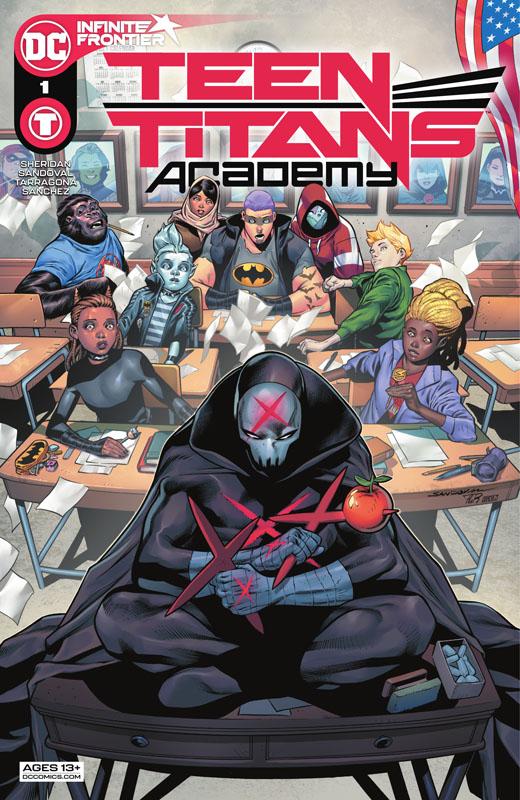 Teen Titans Academy 001 (2021)
