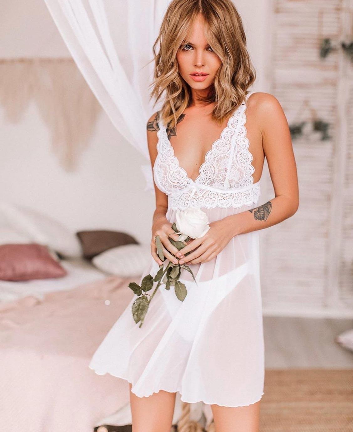 Анастасия Щеглова в нижнем белье торговой марки MissX / фото 37