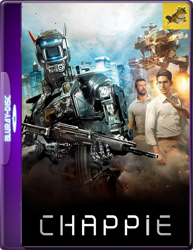 Chappie (2015) Brrip 1080p (60 FPS) Latino / Inglés