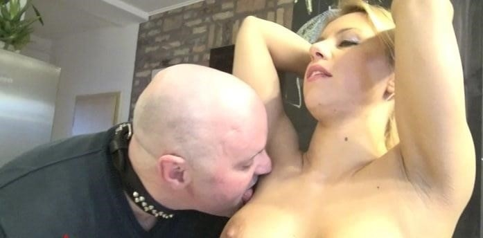 Armpit licking slave-7376