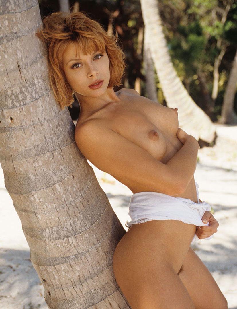 рыжие сексуальные красавицы в журнале Playboy - Angel Boris