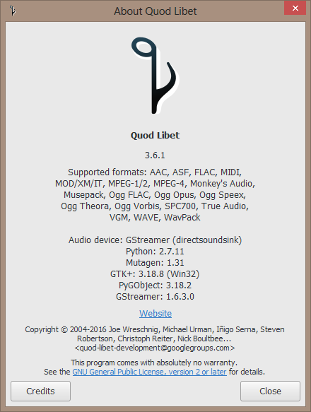 Quod Libet (music player) - The Portable Freeware Collection Forums