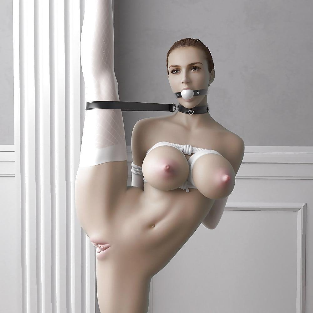 3d bondage comic-7193