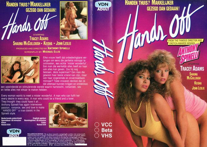 Hands Off / Руки прочь (Anthony Spinelli, Plum Productions) [1987 г., Classic, Feature, VHSRip] (Shanna McCullough, Tracey Adams, Keisha, John Leslie, Mike Horner, Rex Nemo)