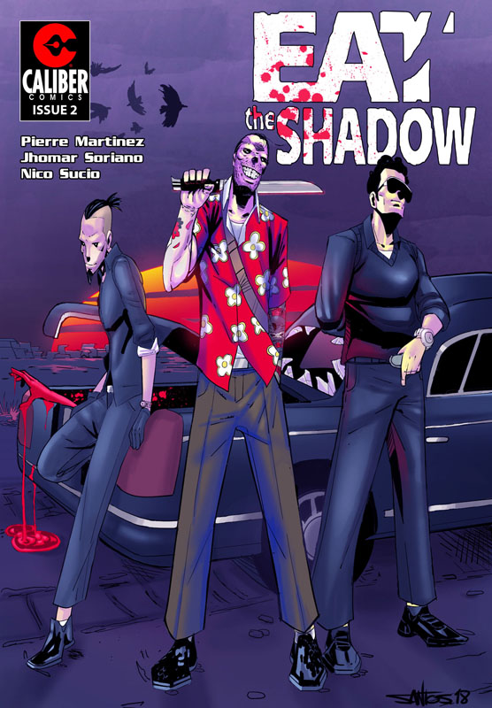 Eat the Shadow #1-2 (2018)