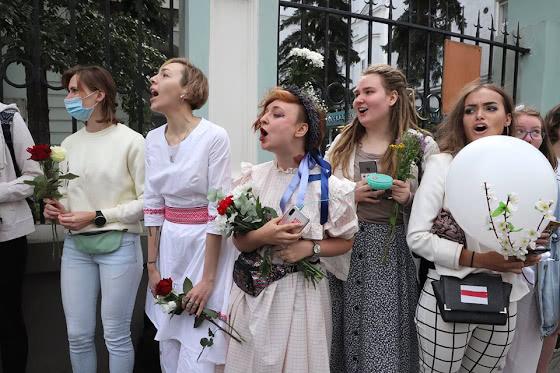 Распевают беларуские песни