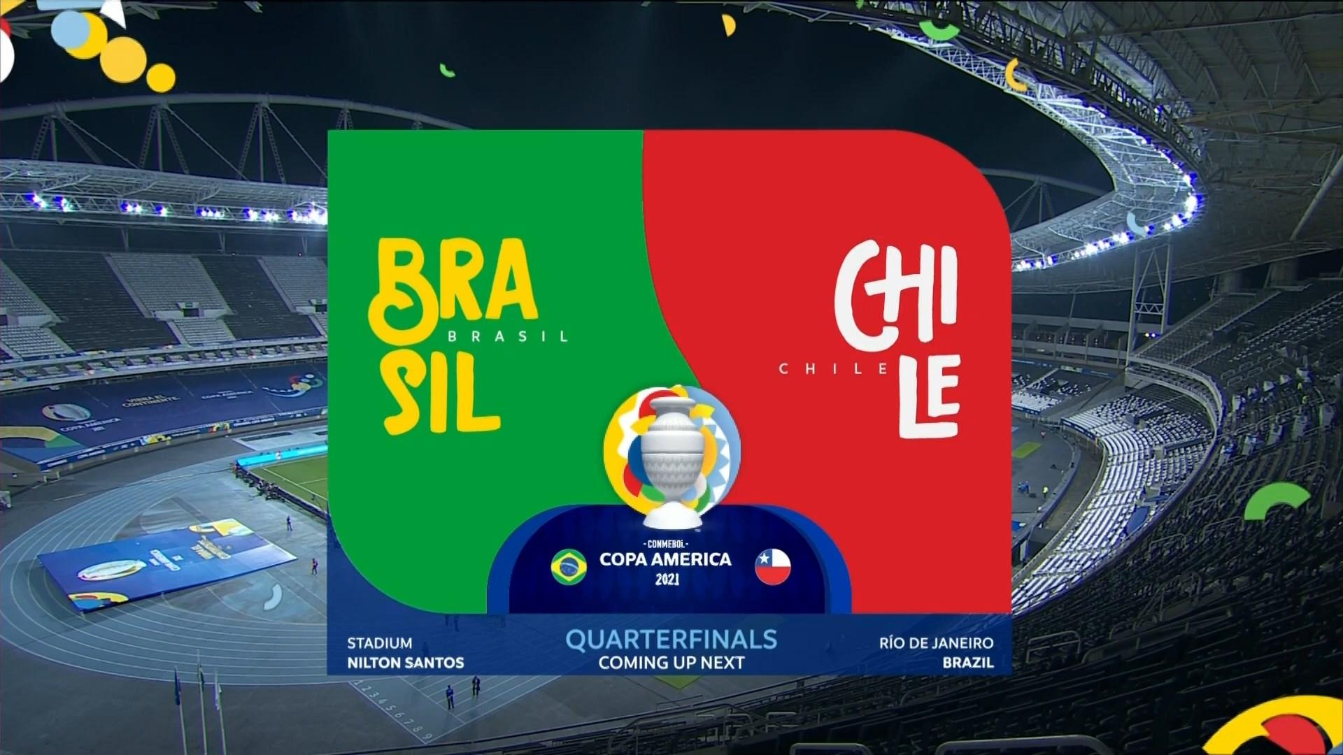 Full match: Brazil vs Chile