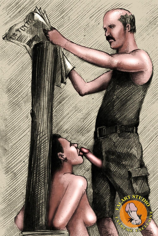 Bdsm slave tied up-5994