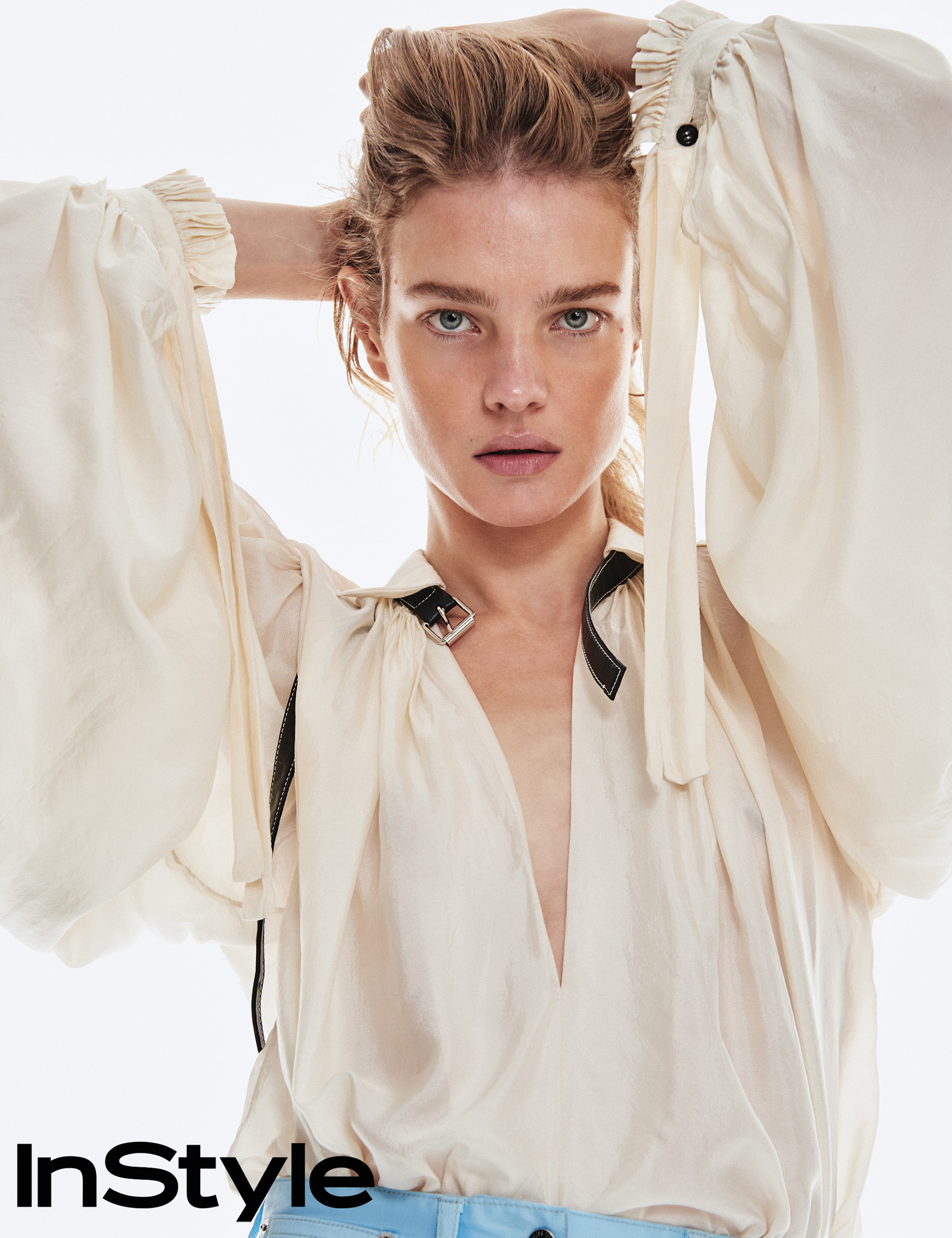 Наталья Водянова / Natalia Vodianova by Chris Colls - InStyle march 2018