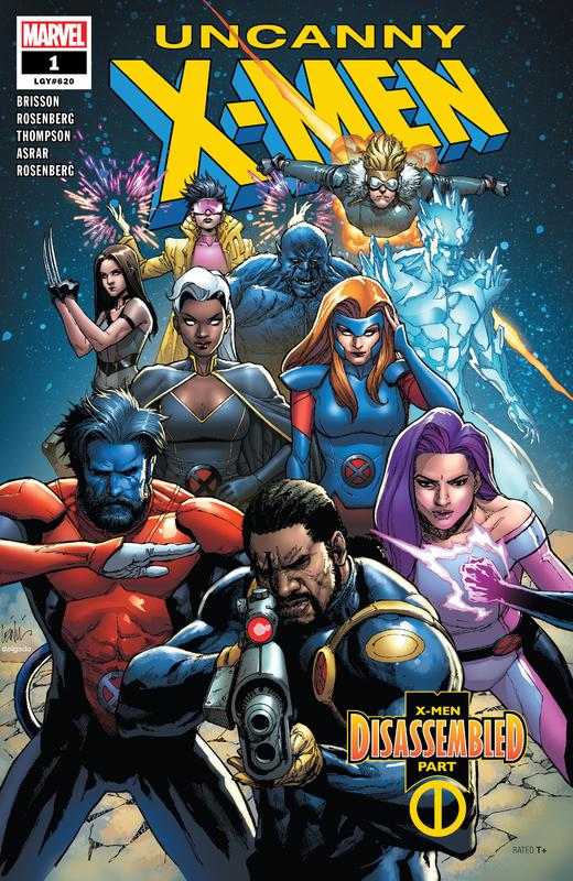Uncanny X-Men #1-4 + Director's Edition 001 (2019)