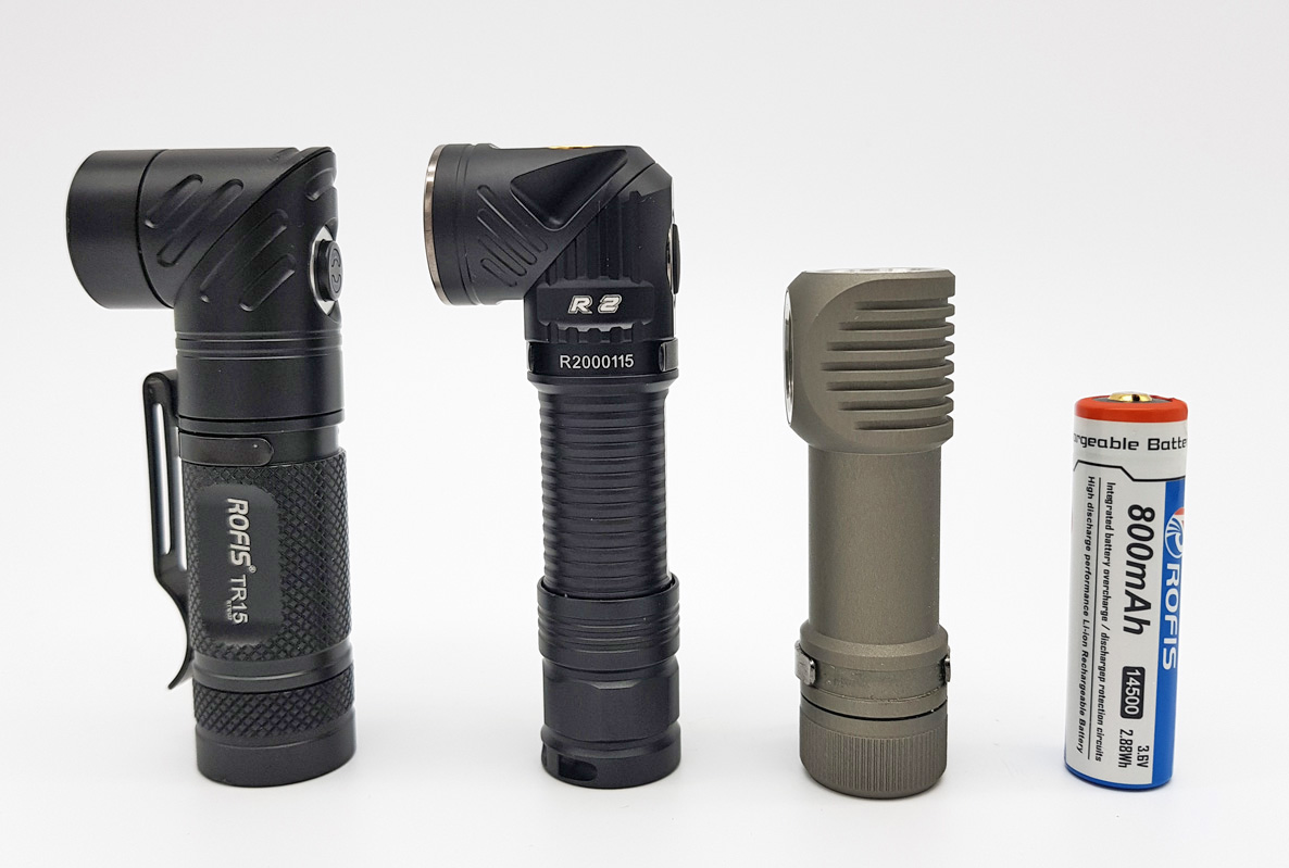 Review Rofis R2 1xaa 1x 14500 Baterai Batre Recharge Aa A2 37v From Left Tr15 Zebralight H502 And Battery Li Ion