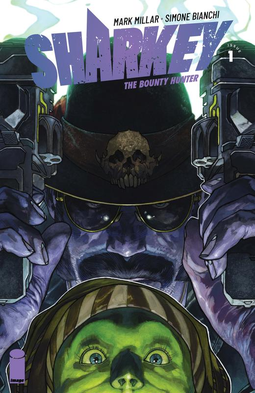 Sharkey The Bounty Hunter #1-5 (2019)